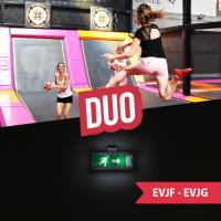 EVC 1h Escape Game + 1h Trampo + collation