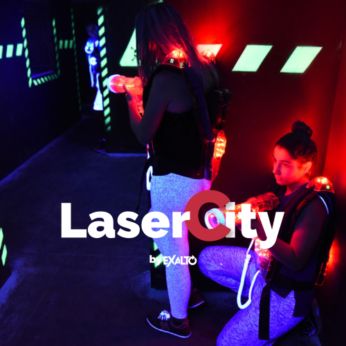 LaserCity 3 parties
