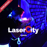 LaserCity 1 partie achetée = 1 partie offerte